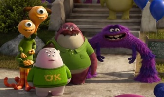 Mike and Sulley's team