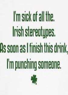 irish sterotypes