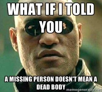 missing body