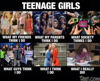 teenage girl