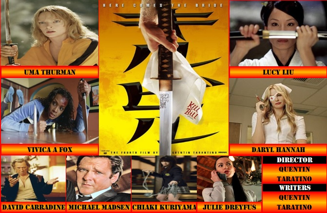Double Feature Kill Bill Vol 1 2003 Movie Reviews 101