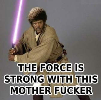 forece is strong