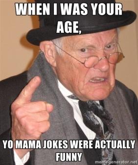 age jokes