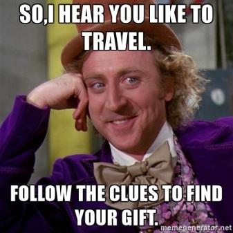 follow clues