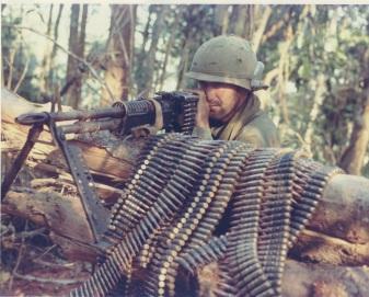 mchine guns