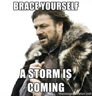 storms coming