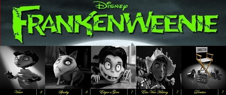 Frankenweenie 2012 Movie Reviews 101