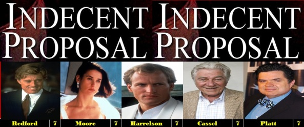 Indecent Proposal 1993 Movie Reviews 101