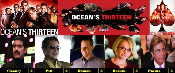 George Clooney Franchise Weekend Ocean S Thirteen 2007 Movie Reviews 101