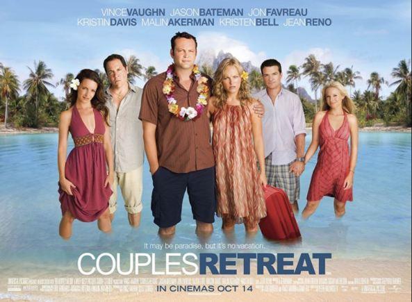 Malin Akerman Weekend Couples Retreat 2009