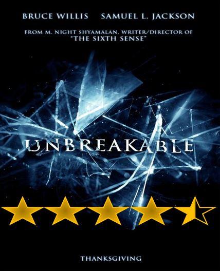 Unbreakable 2000 Movie Reviews 101