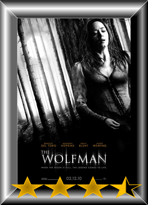 Abc Film Challenge Oscar Nomination W The Wolfman 2010 Movie Review Movie Reviews 101