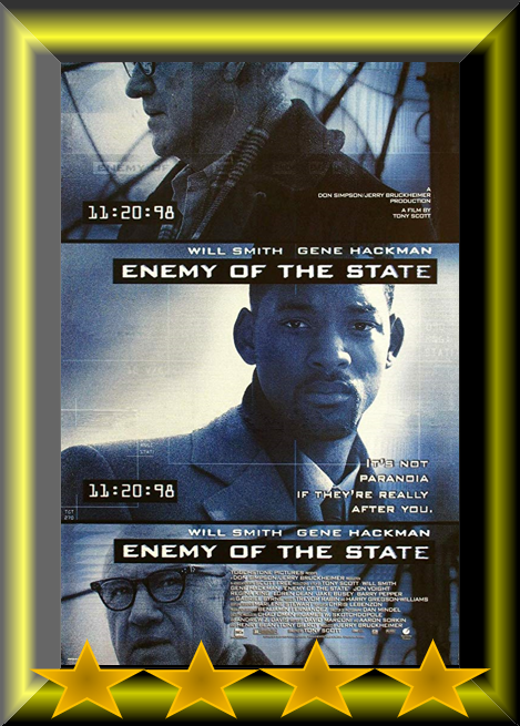 Abc Film Challenge Favourites E Enemy Of The State 1998 Movie Review Movie Reviews 101