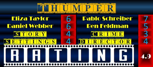 Film Challenge Thriller Thumper (2017) Movie Review